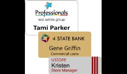 Custom Logo Badges-Full Color