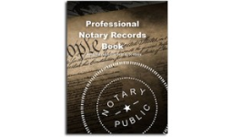Notary Records Book